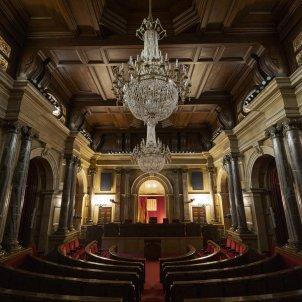 Hemiciclo vacío Parlament de Catalunya - Sergi Alcazar