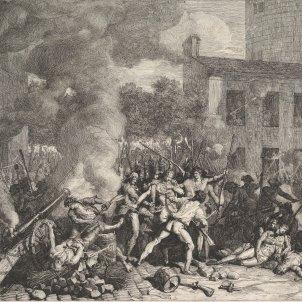 Presa de la Bastilla (París) 14 07 1789 (Charles Thévenin, 1793)