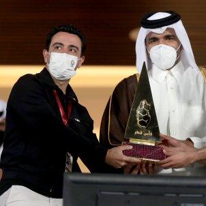 Xavi Hernandez Copa Qatar campeon @AlsaddSC