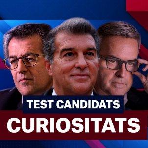 Barça eleccions test Joan Laporta Víctor Font Toni Freixa principal curiositats Foto Laia Hinojosa