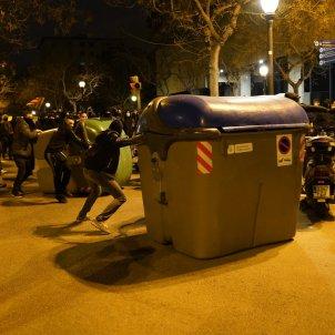 manifestación barcelona pablo hasél 2702 sábado / Pau de la Calle