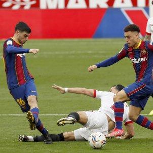 Pedri Barca Sevilla EFE