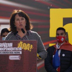 Elisenda Paluzie manifestación ANC 28 febrero -  Pau de la Calle