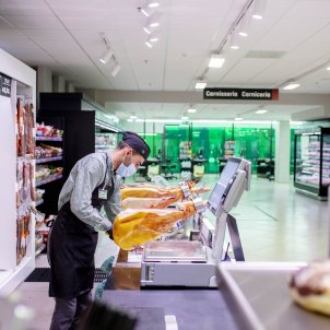 Trabajadors Mercadona supermercado - Mercadona