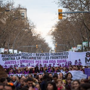 8-m manifestacio barcelona 2020 Europa Press