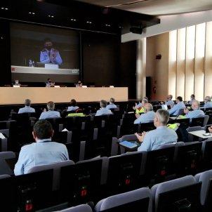 aplaudiment mossos reunió comandaments