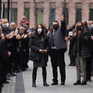 dos de las acusadas juicio de la sindicatura 1-O 03/03/2021 / Sergi Alcàzar