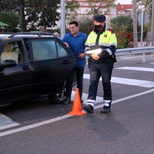 Mossos control confinamento comarcal / ACN