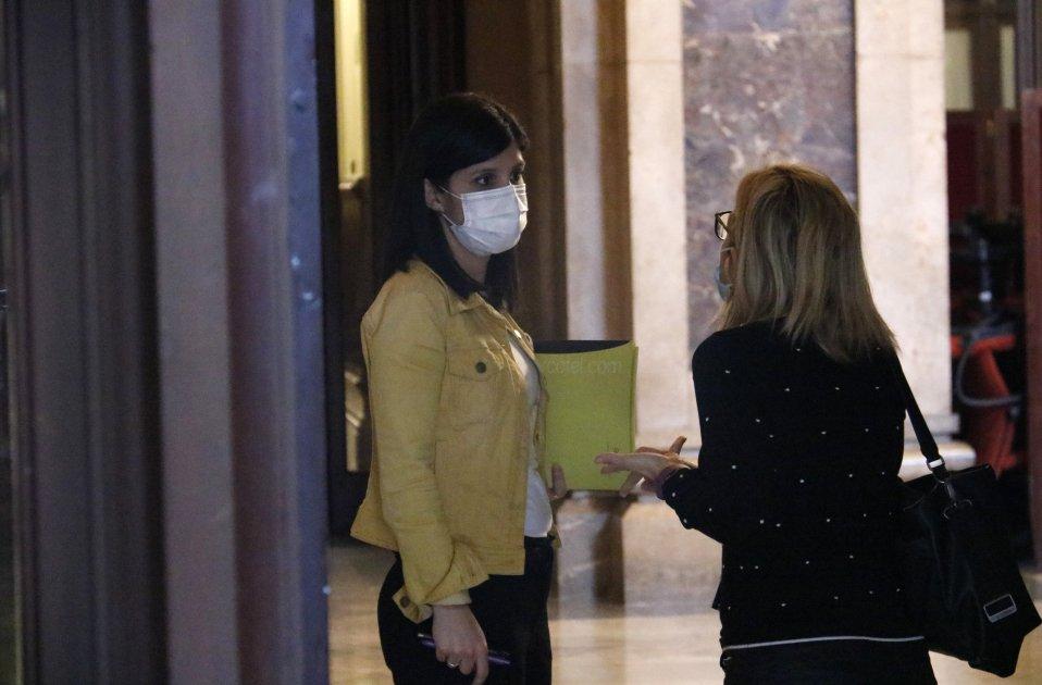 Marta Vilalta ERC Elsa Artadi JxCat parlament Catalunya - ACN