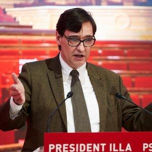 Savador Illa candidato psc Generalitat - Efe