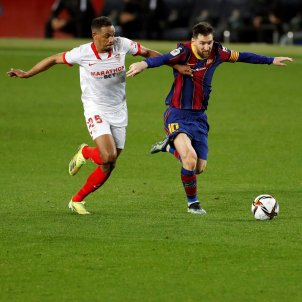 Messi Barça Sevilla EFE