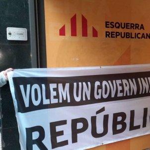 Pressión independentista pacto erc junts Cup sedes marzo / @PacteCatalunya