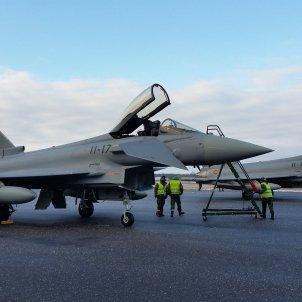 EuropaPress  vuelos cazas españoles estonia eurofighter otan