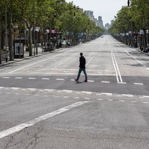 Barcelona, 7 d'abril/Jordi Borràs. 'Catalunya any 0. Veure el virus'. Palau Robert