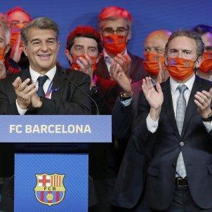 Joan Laporta presidente Barca discurs Barca EFE