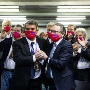 Joan Laporta president Jaume Giro elecciones Europa Press