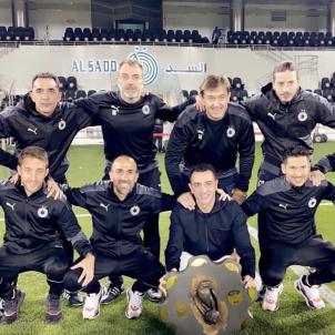 Xavi Hernandez campeon Liga Al Sadd Qatar @xavi