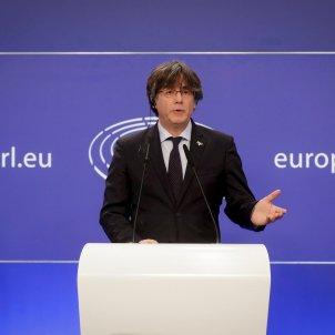 Carles Puigdemont Parlamento Europeo suplicatorio EFE