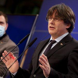 Carles Puigdemont rueda de prensa Parlamento Europeo - Efe