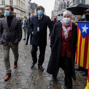 Comín, Puigdemont, Ponsatí EFE