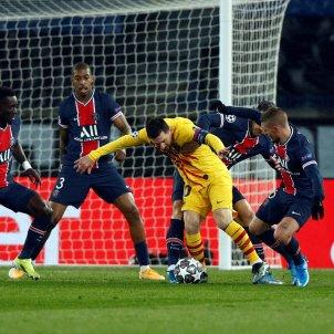 Messi PSG Barca EFE