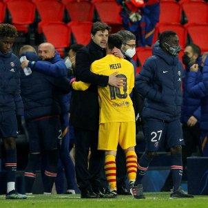 PSG Barça Messi EFE