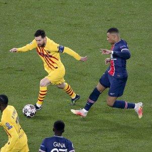 Mbappe Messi PSG Barça EuropaPress