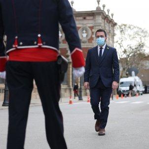 Pere Aragones constitució Parlament mossos - Sergi Alcázar