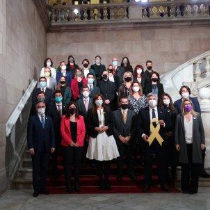 Borràs y el grupo de JUnts al Parlament Sergi Alcàzar