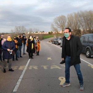 Josep Rull vuelve Lledoners ejercicio democrático 1-O / Junts