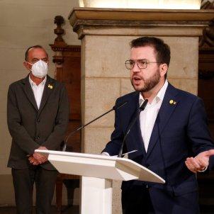 Aragonès Pueyo Govern partidos independentistas / ACN