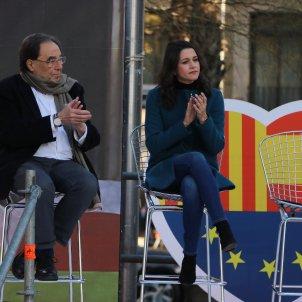 fundador ciudadanos Francesc de Carreras pide cabeza Arrimadas caida libre / ACN