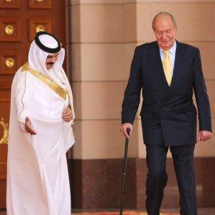 joan carles amb el rei de bahrain hamad bin isa al khalifa gtres