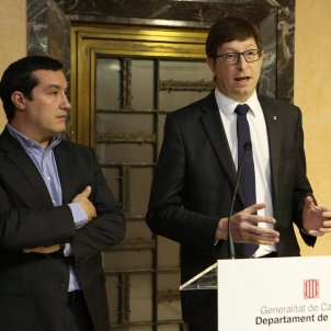 Carles Mundó conseller Justícia / Departament de Justícia
