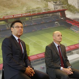 Josep Maria Bartomeu Jordi Moix estadi Johan Cruyff Barça Sergi Alcàzar