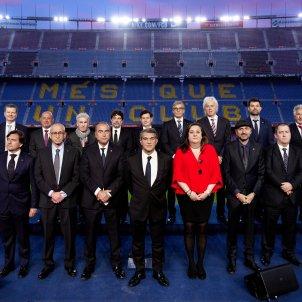 Joan Laporta junta directiva Barca FC Barcelona