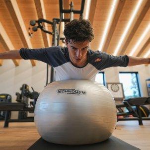 Marc Márquez entrenamiento