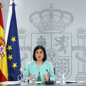ministra sanidad Darias España retoma vacunación AstraZeneca / Efe