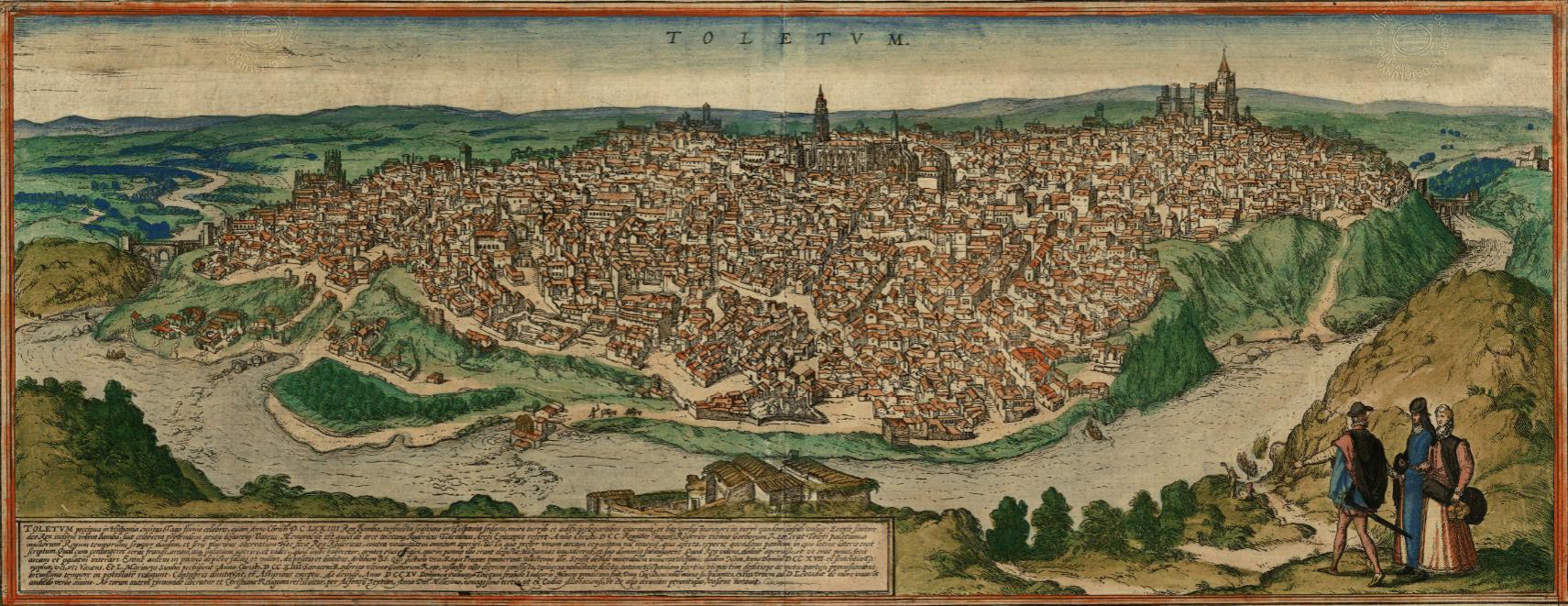 Gravat de Toledo (1572). Font Cartoteca de Catalunya