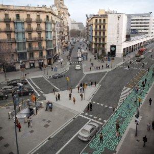 urbanismo tactico calle pelai foto ajbcn (2)