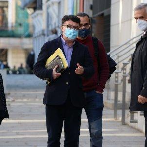 Joan Josep Nuet arribant al Tribunal Suprem - ACN