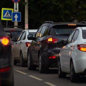 contaminación coches