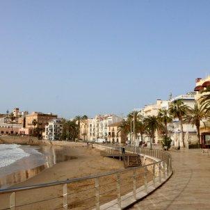Playa Sant Sebastià Sitges ACN