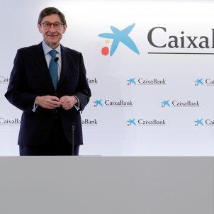 El nuevo presidente de CaixaBank, José Ignacio Goirigolzarri y el consejero delegado, Gonzalo Gortázar - Efe