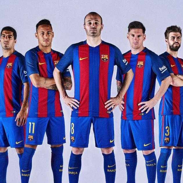 41e4d5fa23 Barça samarreta 2016 17. El Barça presentó la nueva camiseta ...