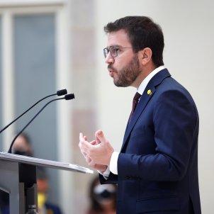 Pere Aragonès pleno investidura EFE