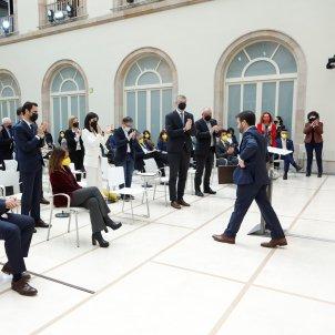 diputados ERC aplausos Aragonès pleno investidura 3 EFE