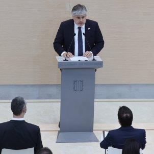 Albert Batet Intervención en primer debate investidura Aragonès / Sergi Alcàzar