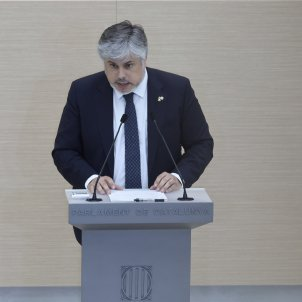 Albert Batet Intervención en primer debate investidura Aragonès 3 / Sergi Alcàzar