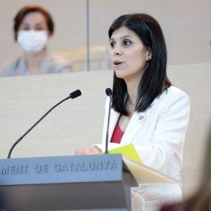Portavoz ERC Marta Vilalta intervención Investidura Pere Aragonès / ACN